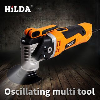 HILDA Multi-Function Electric Saw Renovator Tool Oscillating Trimmer Home Renovation Tool Trimmer woodworking Tools (32789483881)  SEE MORE  #SuperDeals