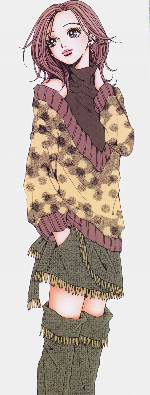 "Hachi (Nana): She's the girl who makes me feel happy, especially when she smiles :x She's the main character in ""Nana"" manga."