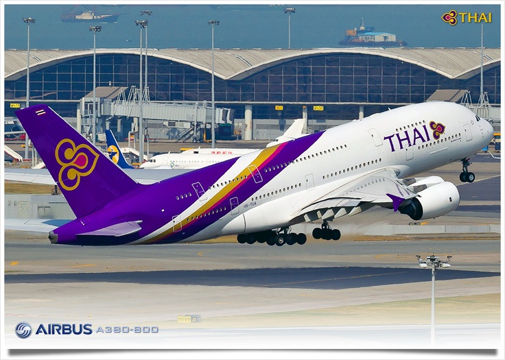 Latest airline to put the A380 into service, Thai Airlines