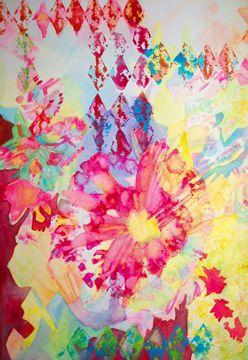 "Watercolour""Diamond Lights"""