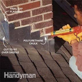 Installing Chimney Flashing   The Family Handyman