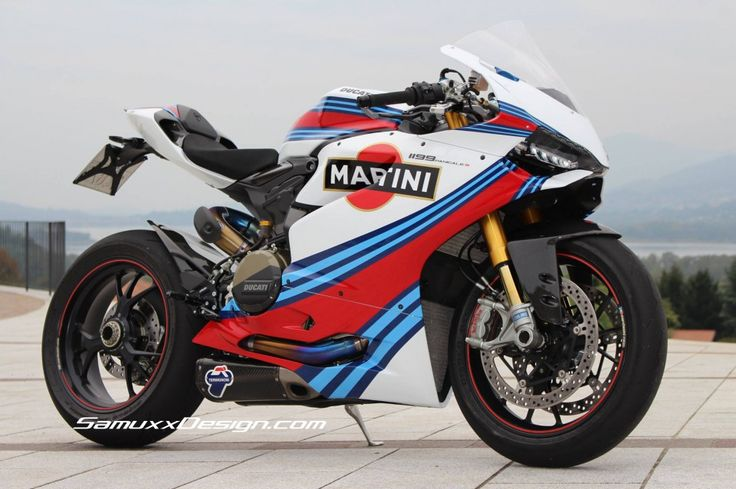 Ducati Panigle 1199 Martini « Samuxx Design