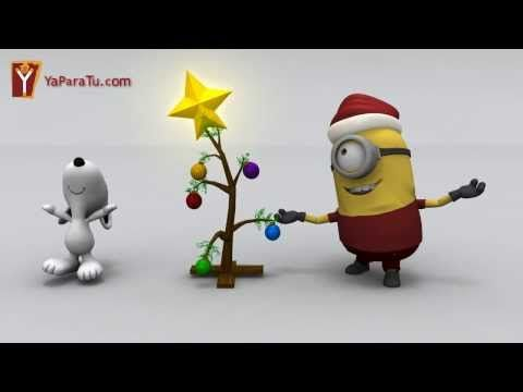 Minions Charlie Brown Christmas tree