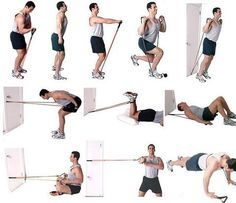 Resistance band exercises are a very interesting option that you may want to consider if you plan to do some home workout. Follow me and I'll show you what you can do!