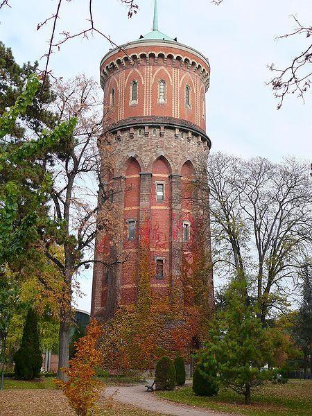 Chateau d'eau - water tower - Colmar, Alsace, Haut-Rhin: