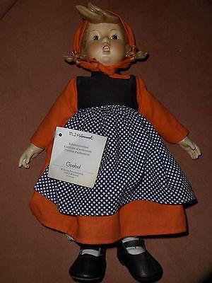 Goebel Porzellan Puppe Hummel 203 Frühlingsidyll
