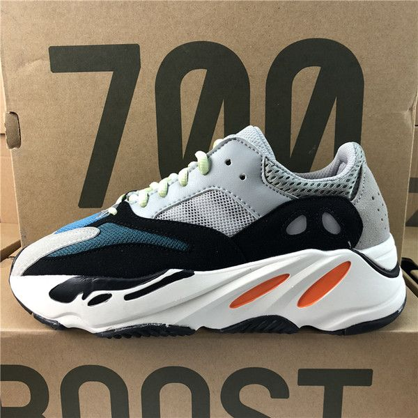 b2d31939f 2018 Adidas Originals Yeezy Boost 700 Kanye West Best Quality Classic  Running Shoes Wave Runner 700 Boosts Sports Shoes Fashion Sneaker With Box  From ...