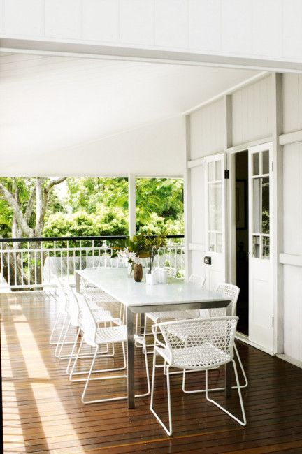 Renovated Queenslander Photo by Prue Rusco | Styling by Megan Morton | via homelife.com.au