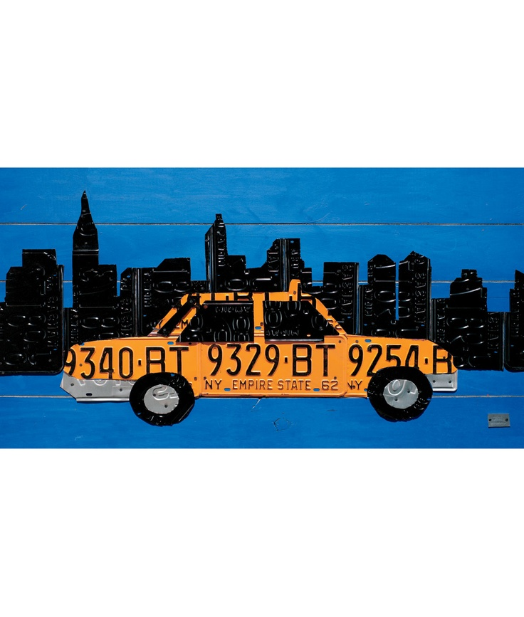 New York Taxi Street City Canvas Wall Art Picture Print Va: 99 Best Artistic Cabs Images On Pinterest