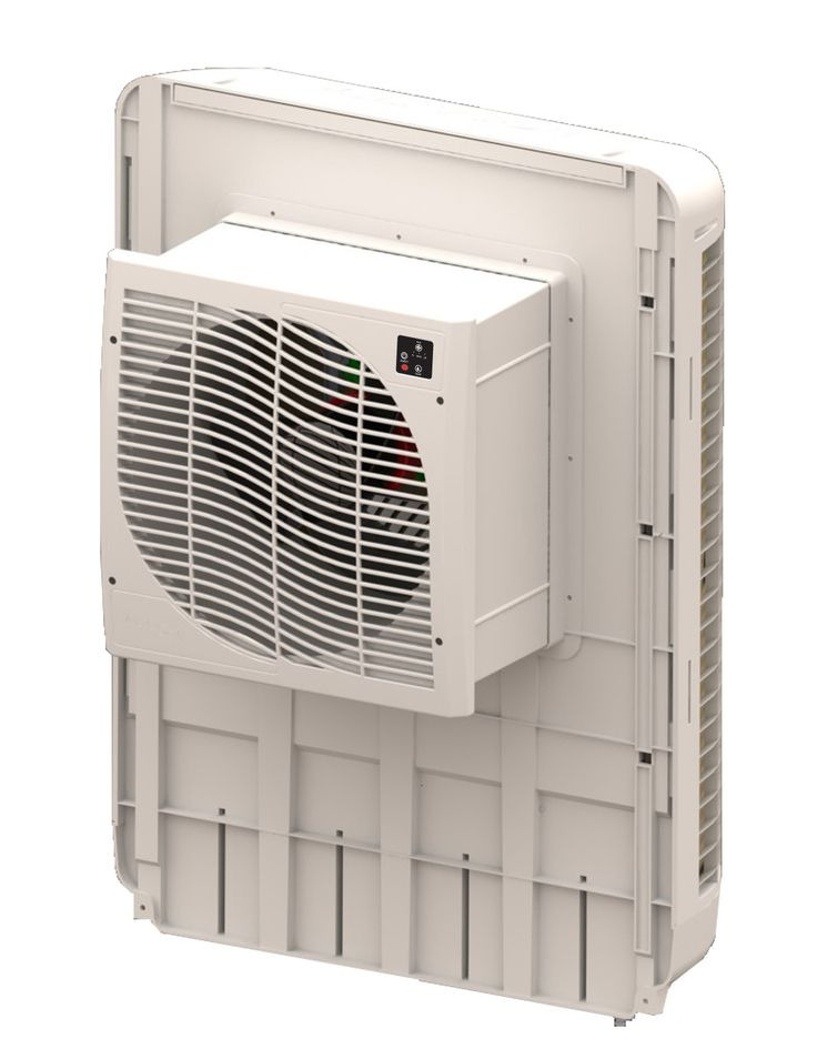 Slim Profile Window Evaporative Cooler with Remote