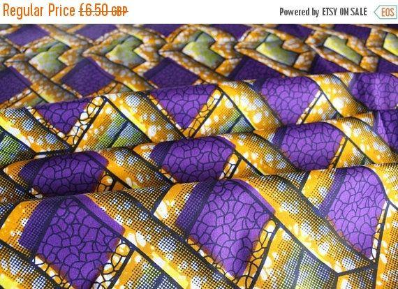 30 % de réduction de couture africaine de tissu pe  Wax Print