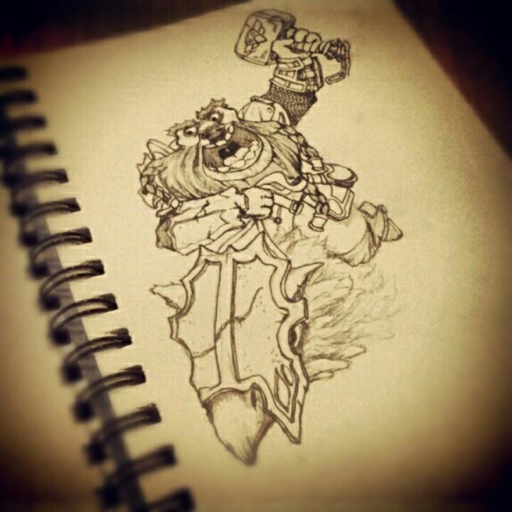 Dwarf, daily sketch