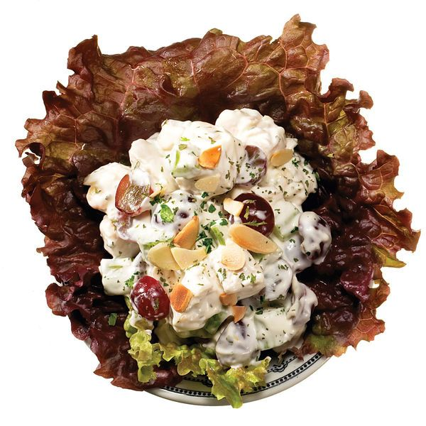Texas cook Helen Corbitt created this chicken salad for Neiman Marcus stores in the 1950s. It's delicious on toasted multigrain bread with lettuce and tomato.