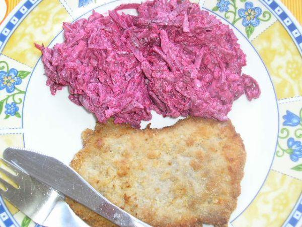 Cviklový šalát - Zdravý a chutný cviklový šalát, s mäskom alebo aj bez...