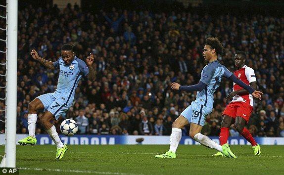 Man City 5-3 Monaco, UEFA Champions League LIVE scores | Daily Mail Online