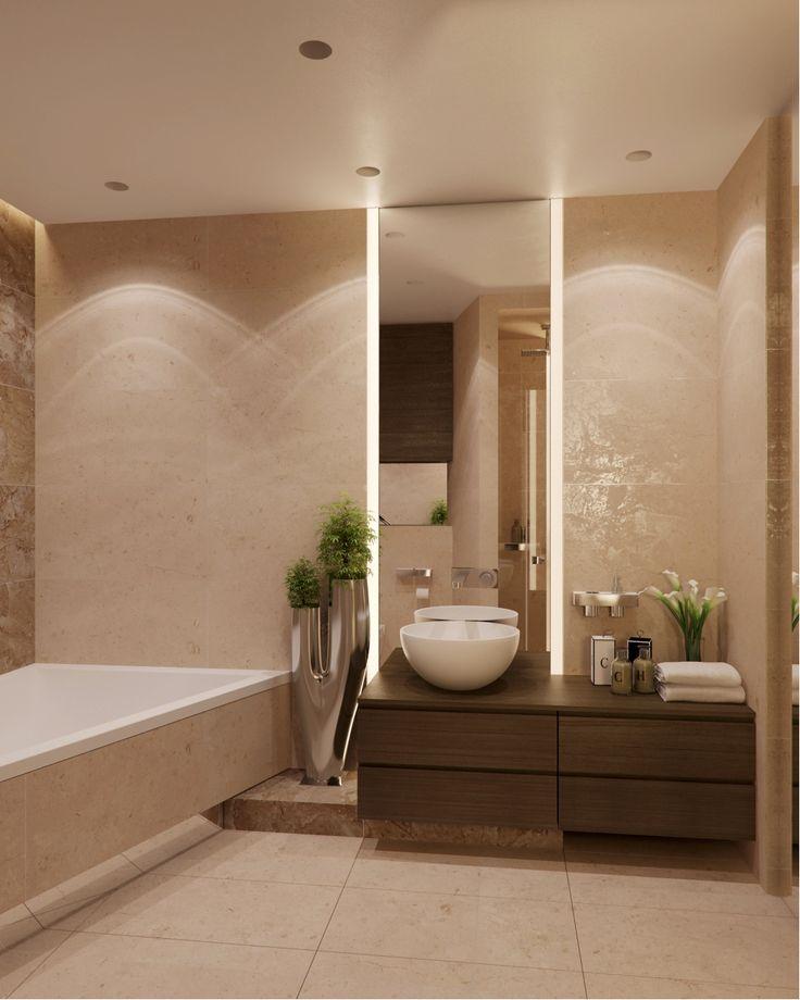 25 beste idee n over beige badkamer op pinterest appartement badkamer decoreren doucheruimte - Zen doucheruimte ...