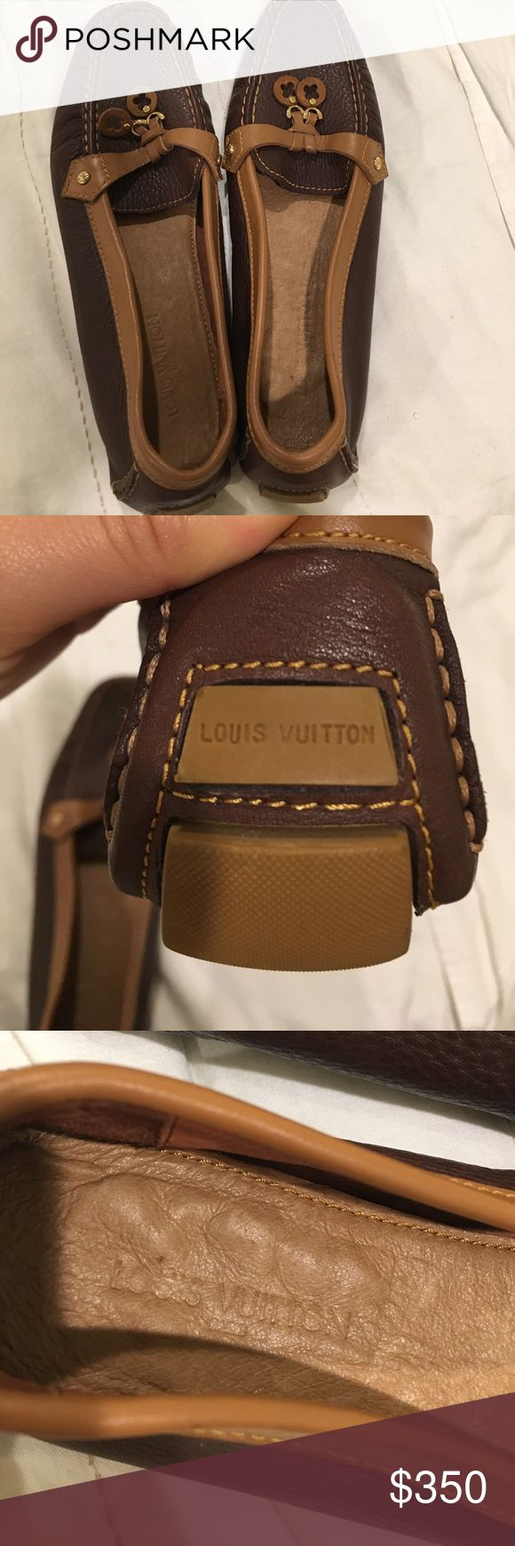 Louis Vuitton Loafers Brand new AUTHENTIC Louis Vuitton Loafers Louis Vuitton Shoes Flats & Loafers