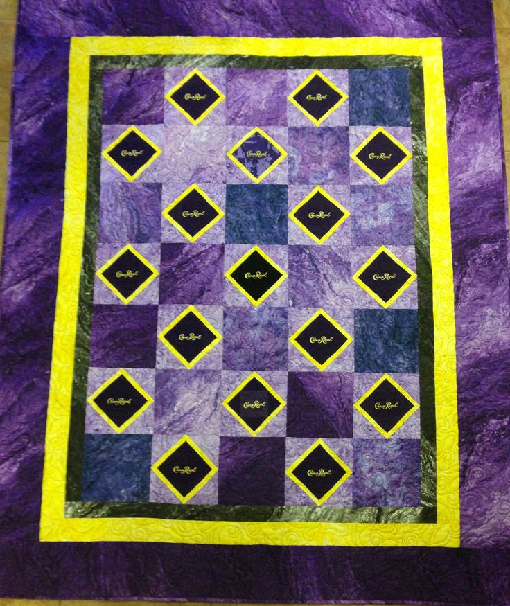 91 Best Images About Crown Royal Bag Quilts On Pinterest