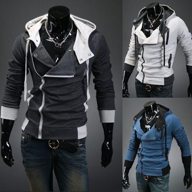 Daily Price $11.99, Buy Fashion Casual Slim Cardigan Assassins Creed Hoodies Men Sweatshirt Outerwear Jackets Plus xxxxl Hoodies FreeShipping emy120
