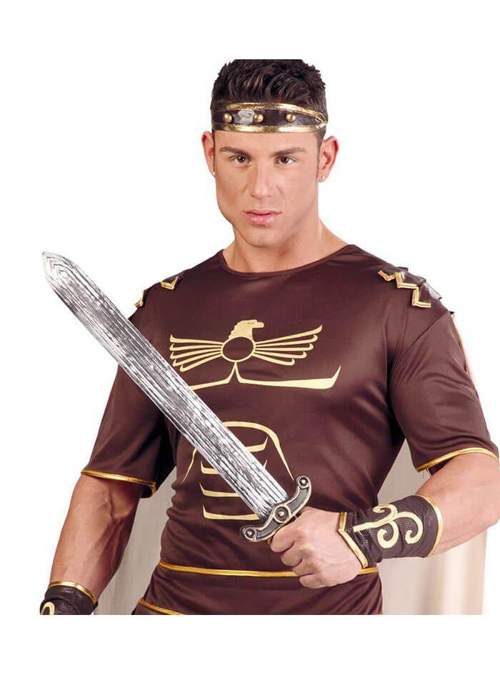 Espada color plata envejecida de romano | Comprar