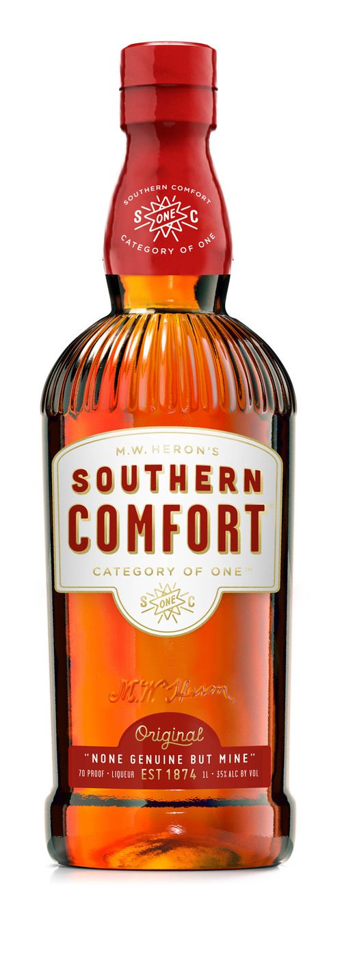 Design Today: Southern Comfort Branding & Packaging Redesigned by Helms Workshop — The Dieline - Package Design Resource