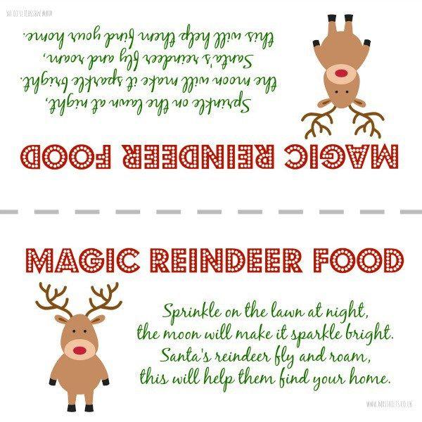 Best 25 Reindeer Food Label Ideas On Pinterest Reindeer