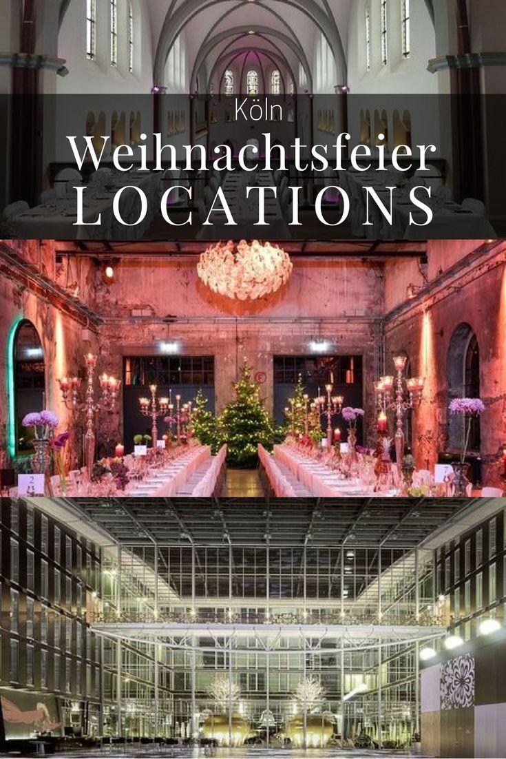 Feiern Sie Weihnachten diese Jahr in den beeindruckendsten Kölner Locations: Von der Design-Fabrikhalle bis zum modernem Glasbau! #weihnachtsfeier #köln #cologne #christmas #partylocation #firmenevent #betriebsfest #weihnachtslocation #weihnachtsfeier #locationportal Bildrechte des mittleren Bildes: eventfotografie24.com