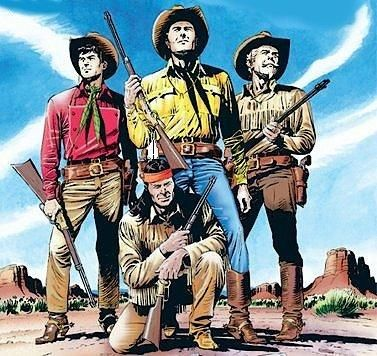 Tex Willer and his Pards