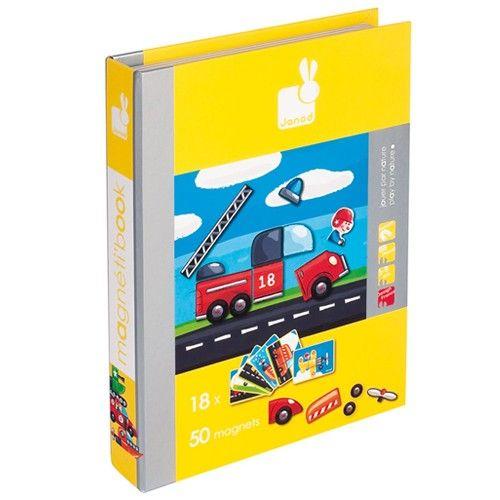 magneetboek voertuigen | janod