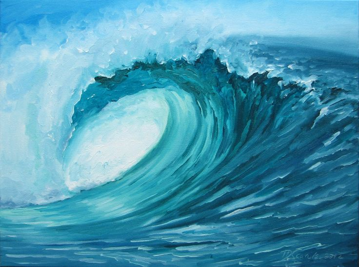 Ocean Wave Drawing Tumblr Images & Pictures - Becuo