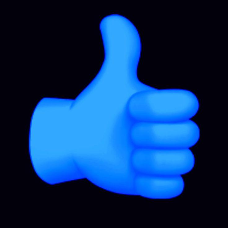 emoji like pouce bleu fond d ecran