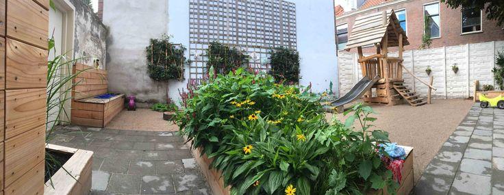 Tuin van kindercentrum 2Prinsjes (Kinderopvang 2Samen) Ontwerp: House of Green Uitvoering: Heijbers Verkleij