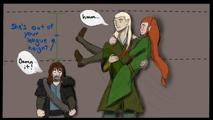 kili and tauriel fanfiction - Google Search | Funny {LoL ...