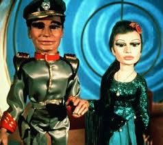 Troy Tempest, the captain of the TV show and submarine - Stingray with Marina, his great love interest.