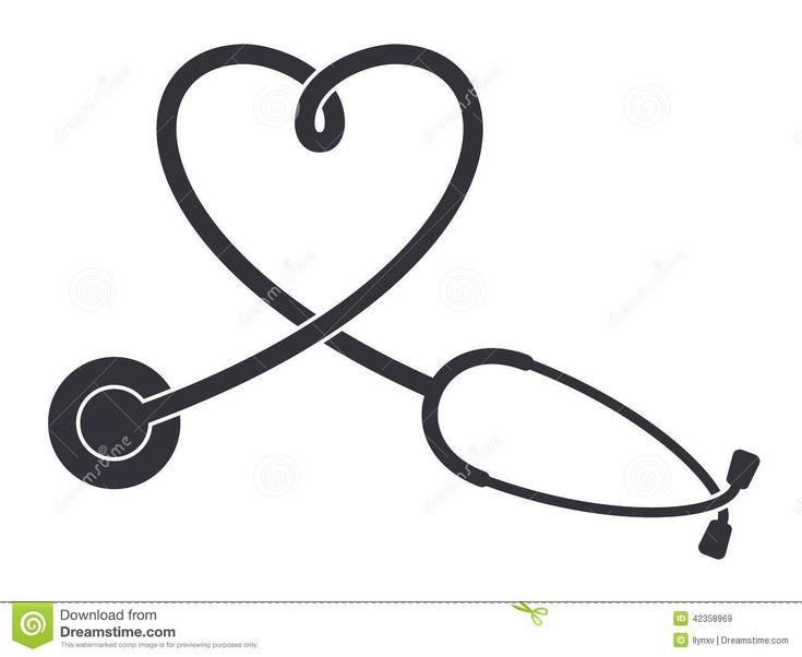 10 best stethoscope clipart images on pinterest tattoo ideas rh pinterest com stethoscope clipart transparent stethoscope clip art black and white