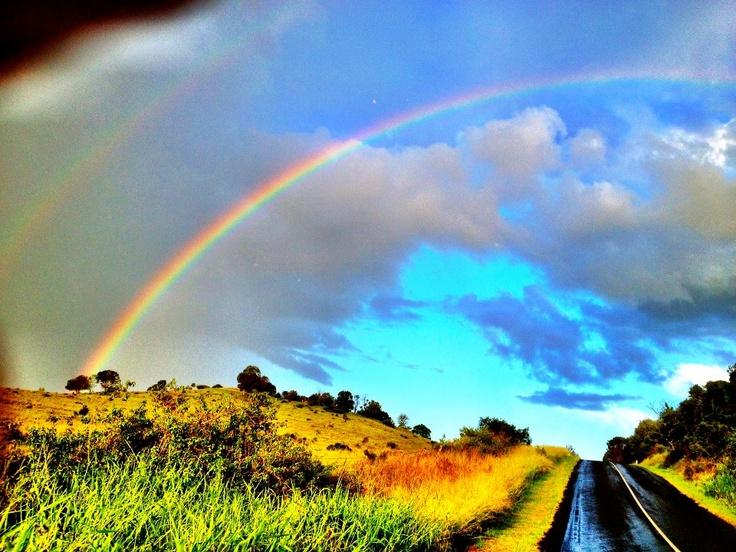 Double rainbow magic. Isn't the Scenic Rim stunning? www.nightfal.com.au #scenicrim