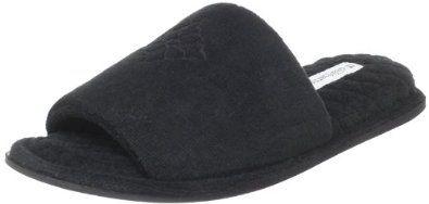"""Dearfoams Women's 365 Slipper Dearfoams. $13.61. Rubber sole. Heel measures approximately 1"""". Made in China. synthetic"""