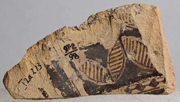 Фрагмент сосуда с изображением птиц - V тыс. до н.э.Государственный музей изобразительных искусств им. А.С.Пушкина