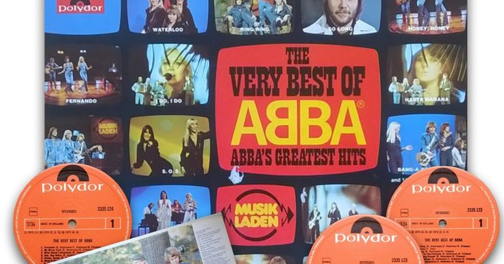 """Today in 1976 the compilation album """"The Very Best Of Abba"""" entered the charts in the Netherlands #Abba #Agnetha #Frida #Vinyl #Netherlands http://abbafansblog.blogspot.co.uk/2016/09/abba-date-4th-september-1976.html"""