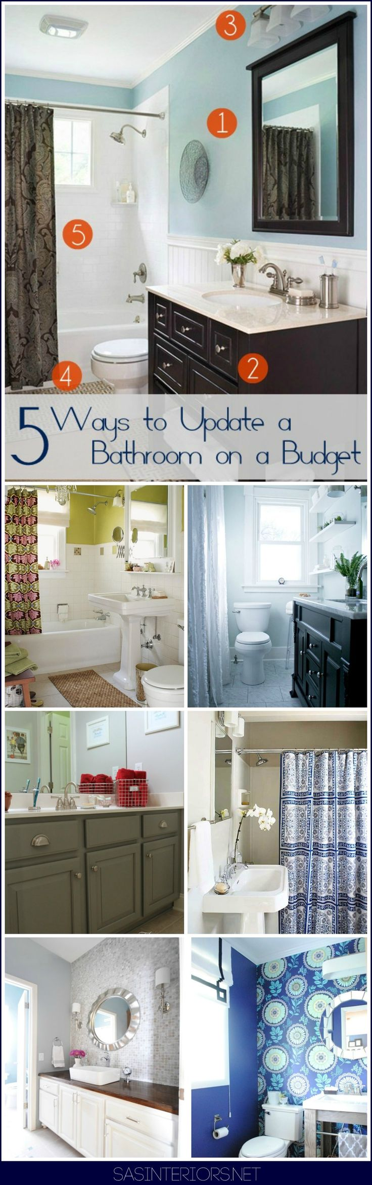 25 Best Ideas About Bathroom Updates On Pinterest Easy Bathroom Updates Restroom Ideas And Diy Bathroom Design Ideas