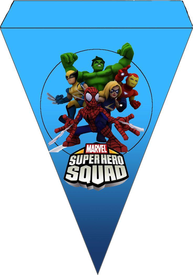 Marvel Superhero Squad Imprimibles Gratis Para Fiestas