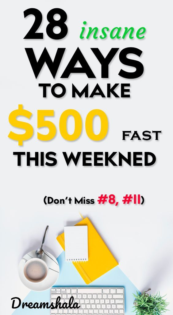 How To Make 500 Dollars Fast: 28 Smart And Proven Methods – Siva | Dreamshala | Blogging, Social Media, Online Marketing Updates, WAH Jobs.