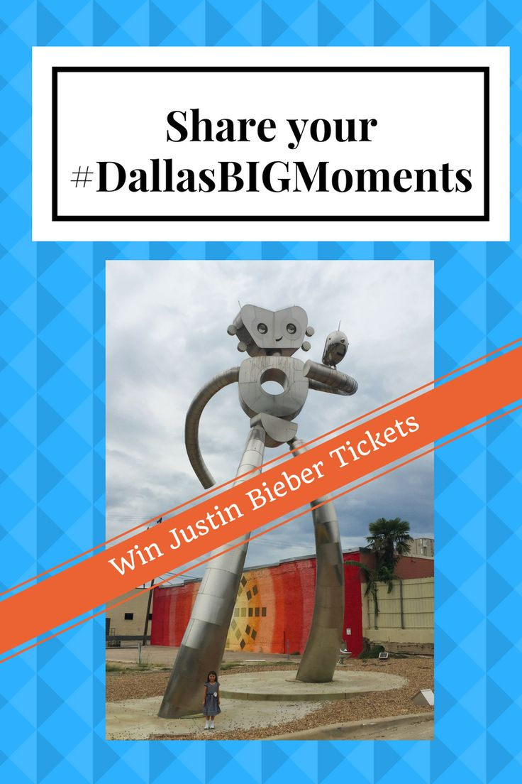 "Show off your ""Dallas"" Side with #dallasbigMoments on social media and you could win a Justin Bieber Tickets package or a Dallas Cowboys game tickets."