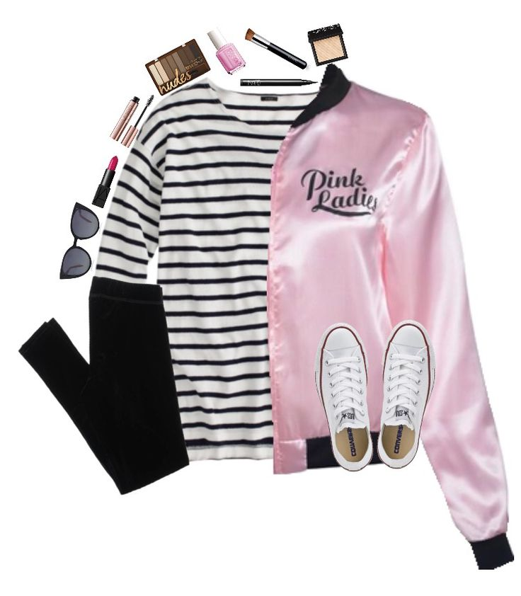 cute grease pink ladies costume