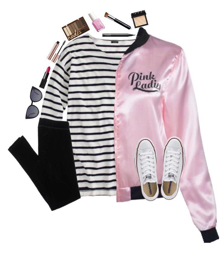 cute grease pink ladies costume
