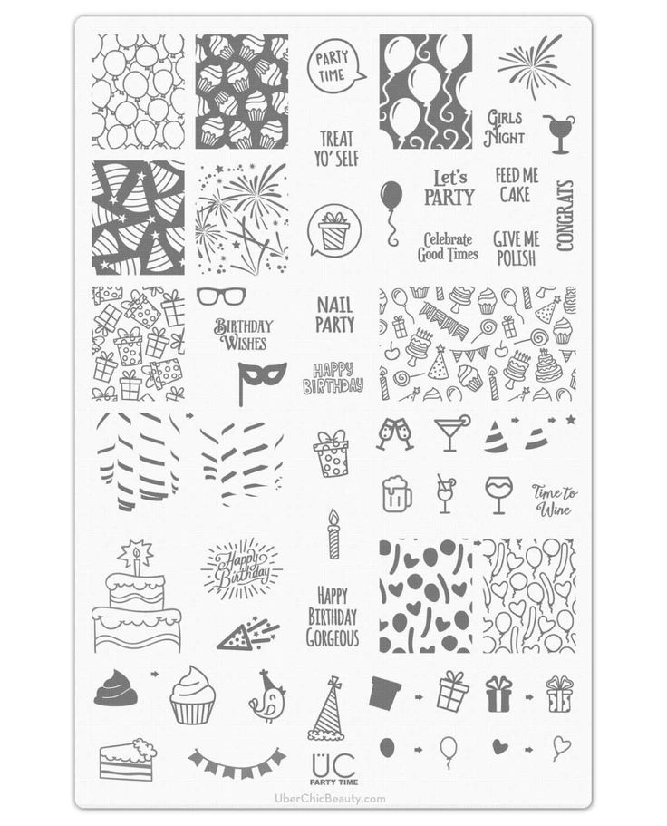 44 best aa Schablone images on Pinterest | Stencil, Nail stamping ...