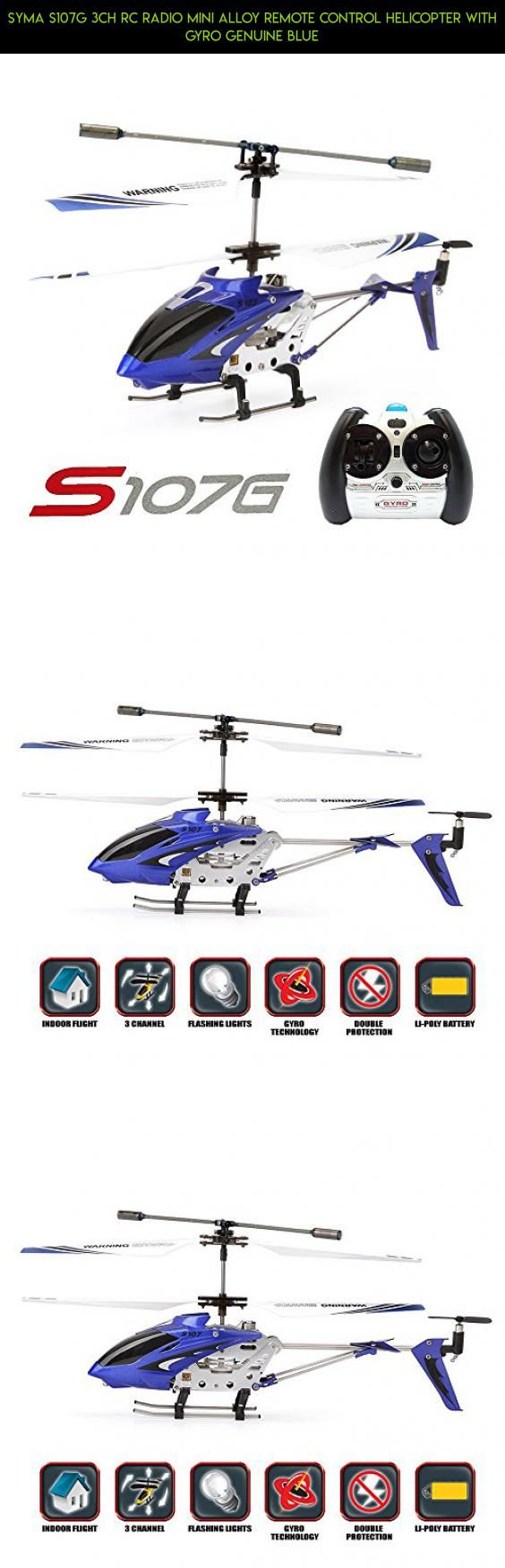 Syma S107G 3CH RC Radio Mini Alloy Remote Control Helicopter with Gyro Genuine Blue #gps #drone #parts #racing #kit #tech #fpv #syma #plans #gadgets #shopping #technology #drone #products #camera
