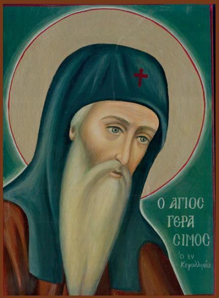 Παναγία Ιεροσολυμίτισσα : Άγιος Γεράσιμος: Ο μεγάλος ασκητής της Κεφαλληνίας...