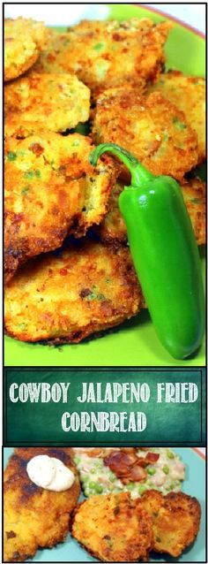 Cajun Jalapeno Cheddar Corn Fritters  Oh BOY, Corn Fritters... But not just any corn fritters, these are LOADED with plenty of extras.  Corn, Cheddar and Jalapeno Peppers of course, but the seasoning I like to use is the classic OLD BAY Crab seasoning.  Works great with Taco mix, Cajun mix and even plain old Salt and Pepper