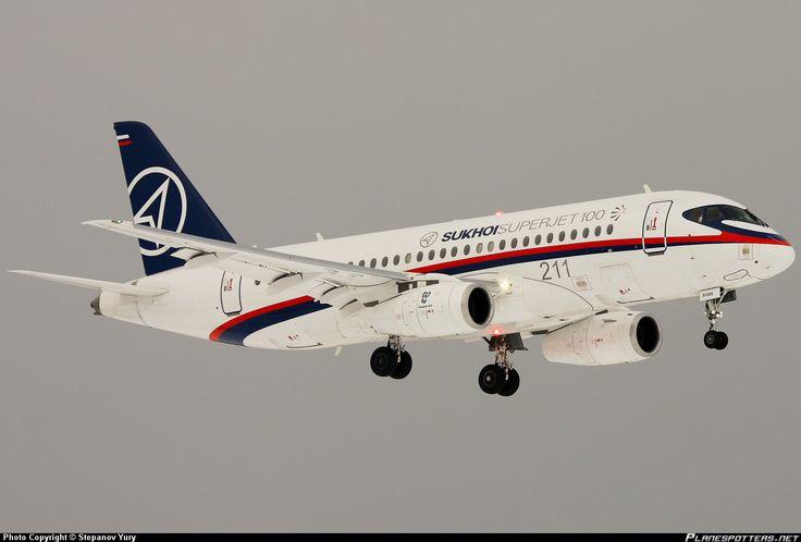 civil aviation   97005 Sukhoi Civil Aviation (SCA) Sukhoi Superjet 100-95 taken 15-02 ...